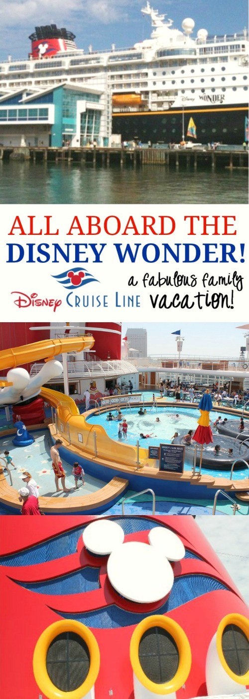 Disney Wonder Cruise- An Amazing Family Vacation You Will Never Forget! Disney Cruise Line review that shares everything you need to know about sailing on the Disney Wonder cruise ship