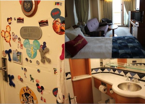 Disney Wonder Cruise Ship Staterooms