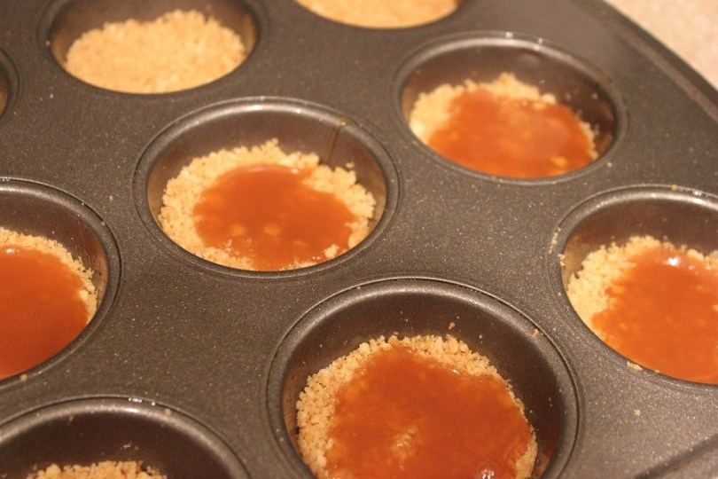caramel on graham cracker crust