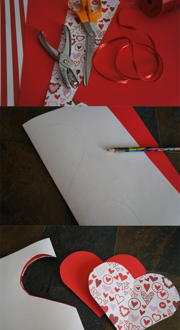 How to Make Valentines Day Treat pockets, a fun homemade Valentines craft for kids