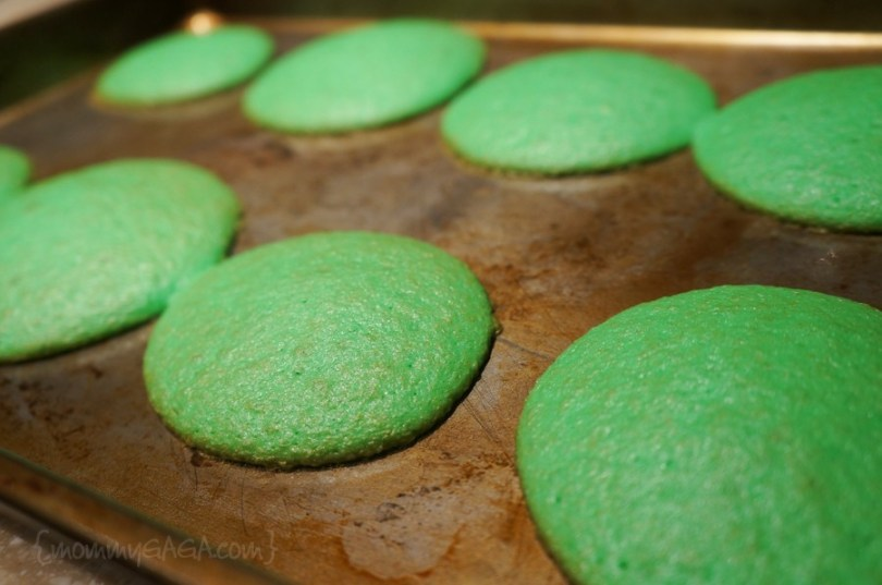 bake green whoopie pies for St. Patrick's Day
