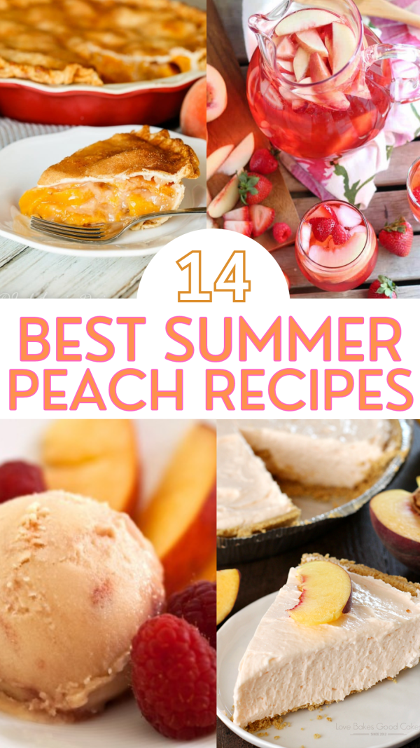 14 Best Summer Peach Recipes to Try This Season