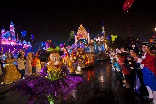 Mickey's Halloween Party Costume Parade, Disneyland