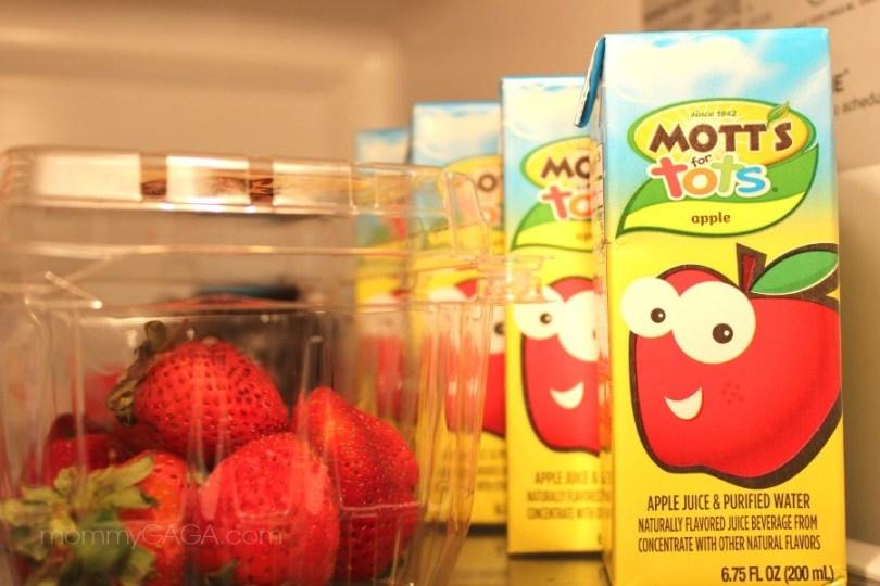 Mott's for Tots Apple Juice Boxes