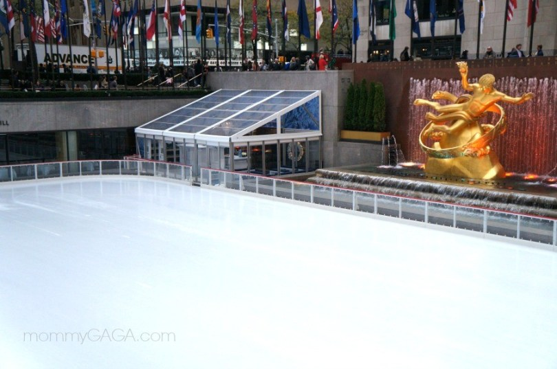 The Rink at Rockefeller Center, New York