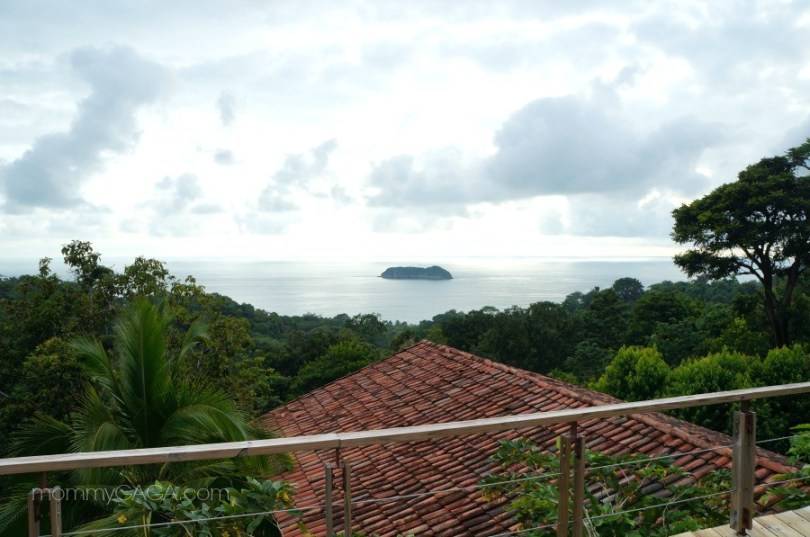 View of the Pacific Ocean from Si Como No hotel, Costa Rica