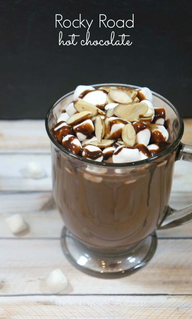 Rocky Road Gourmet Hot Chocolate Recipe
