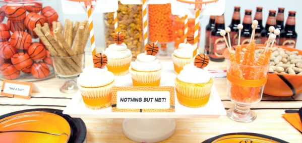 March Madness Party Ideas - throw the best basketball birthday party theme