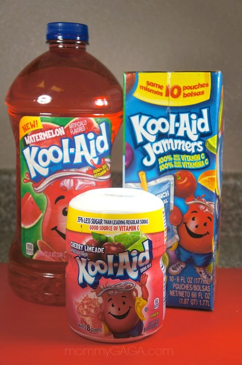 Kool Aid Fruit Flavored Juice Drinks