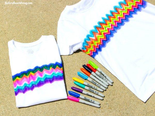 Sharpie Tie-Dye Shirts craft