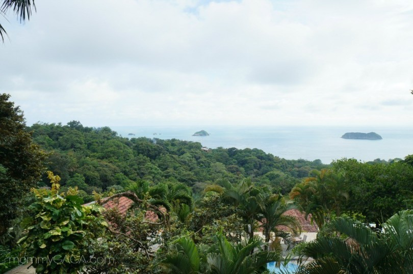 Lovely view of the Pacific Ocean from Si Como No Hotel, Costa Rica