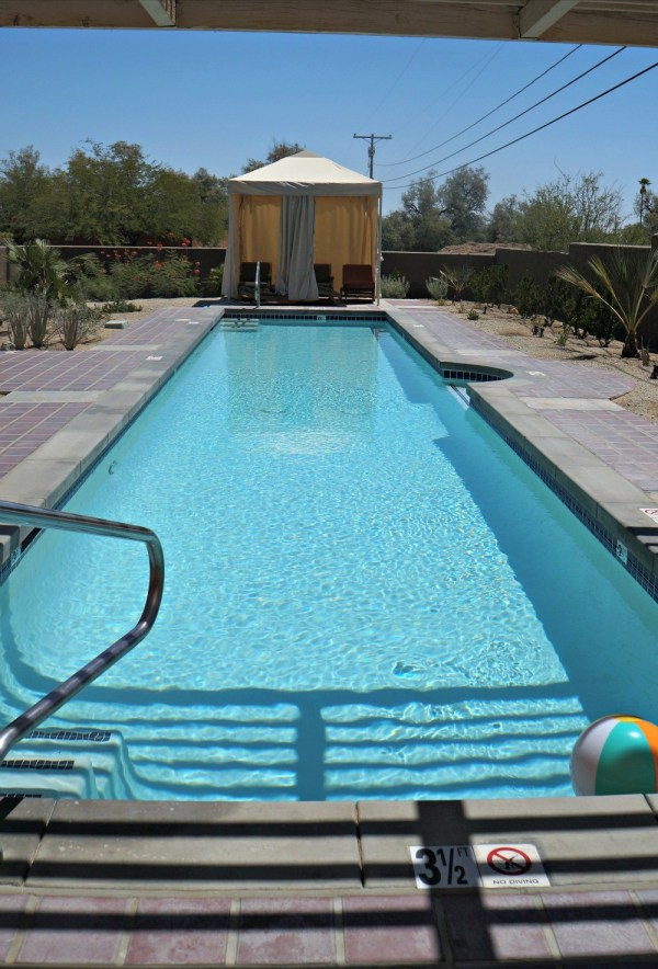 Personal pool at each casita at La Casa Del Zorro Resort
