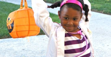 Doc McStuffins costume for Halloween