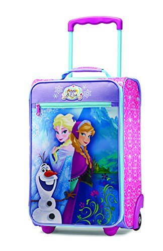 Disney's Frozen American Tourister 18-inch rolling travel bag suit case