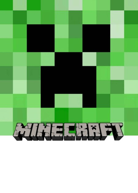 Minecraft birthday invitation template - Download and customize them free