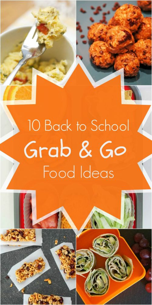 12 Back To School Grab and Go Breakfast, Lunch and Snack Ideas