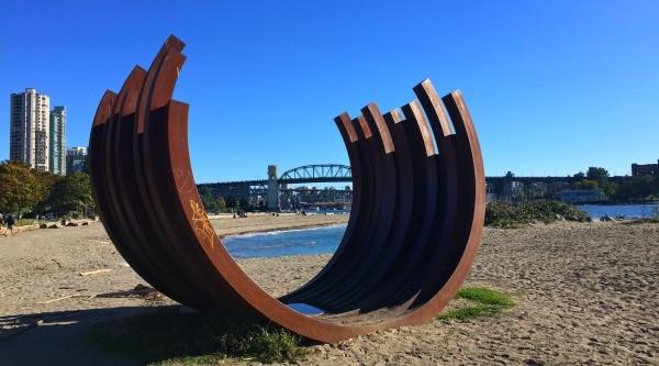 Vancouver outdoor museum sculpture