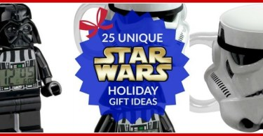 25 Unique STAR WARS Holiday Gift Ideas for Your Favorite Jedi