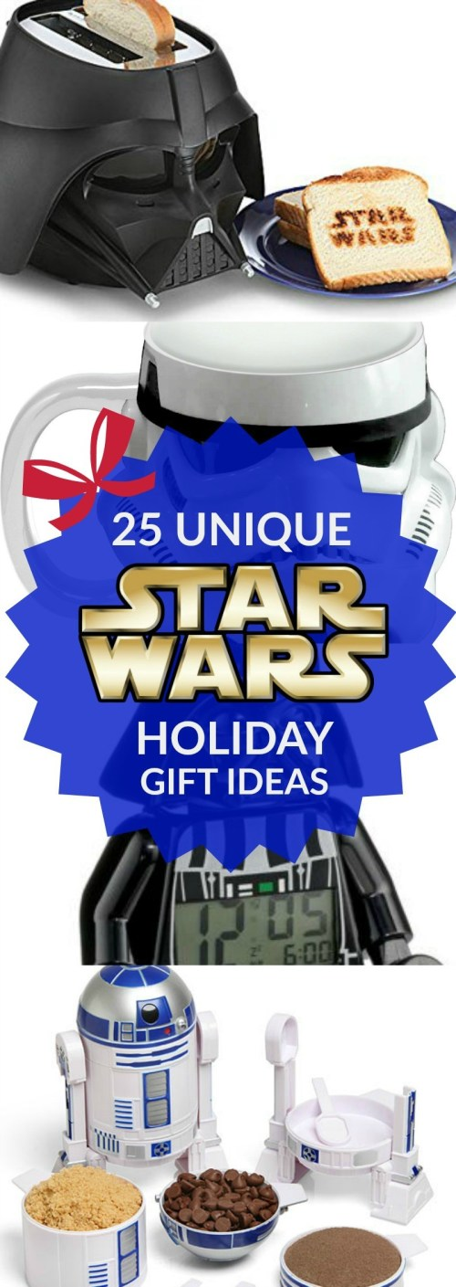 25 Unique STAR WARS Holiday Gift Ideas for the Fan of The Force (1)