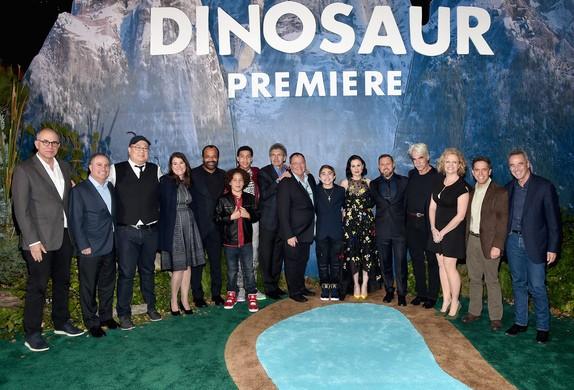 Cast and Creative Team at the World Premiere Of Disney-Pixar's THE GOOD DINOSAUR At El Capitan Theatre 11-17-15