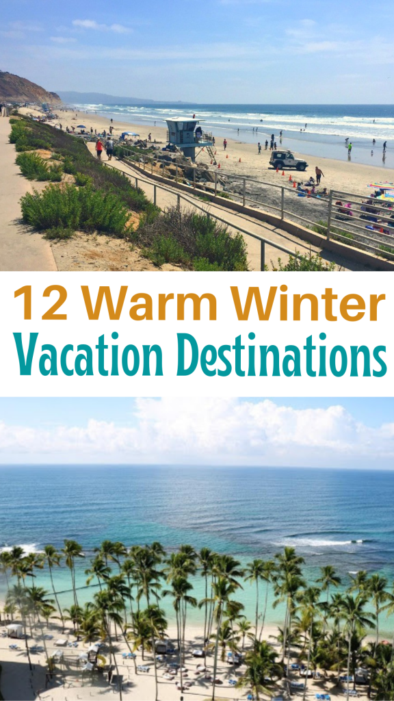 12 Warm Winter Vacations for Family Travel - these warm travel destinations are perfect for visiting during the winter months