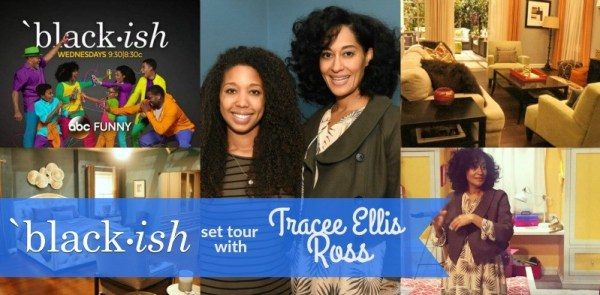 ABC's Black-ish TV Show set tour with Tracee Ellis Ross and Deanna Underwood