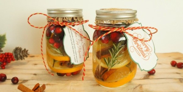 Homemade potpourri recipes - Make Your Own Cranberry Orange Stove Top Potpourri Holiday Gift Jars