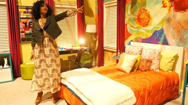 Tracee Ellis Ross gives a tour of ABC's Blackish Set