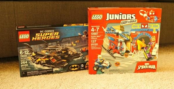 LEGO® Super Heroes Marvel and DC Comics Building Sets