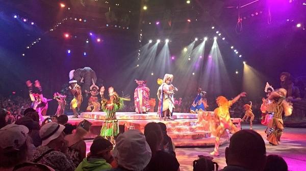 Disney's Animal Kingdom theme park, Festival fo the Lion King show