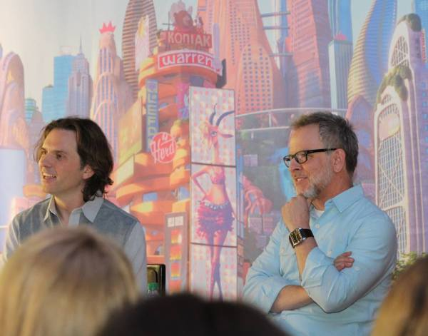 Disney's Zootopia Movie Directors Byron Howard and Rich Moore