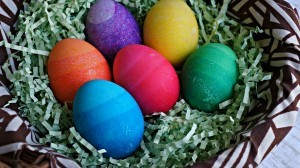 Easter crafts activities - How to make Ombre Easter eggs