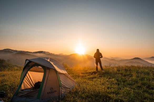 Tips for your next camping trip - tent camping hacks and more