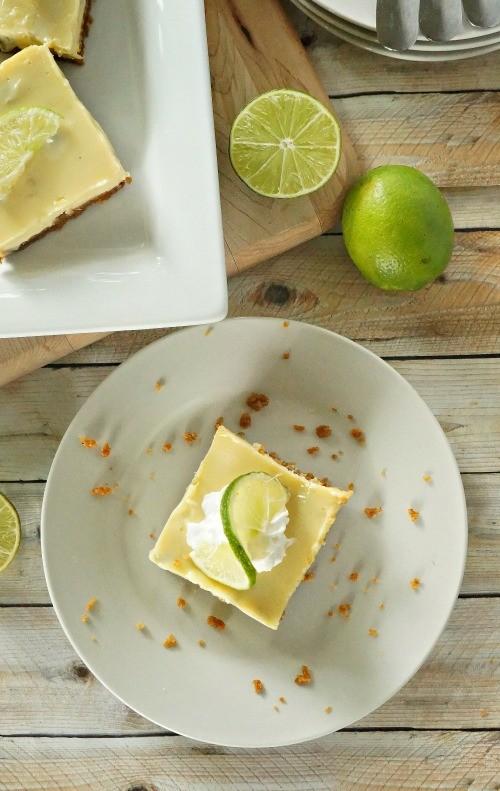 Easy key lime pie bars recipe