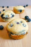 Blueberry pancake bites, save time with this quick breakfast ideas for kids on school mornings