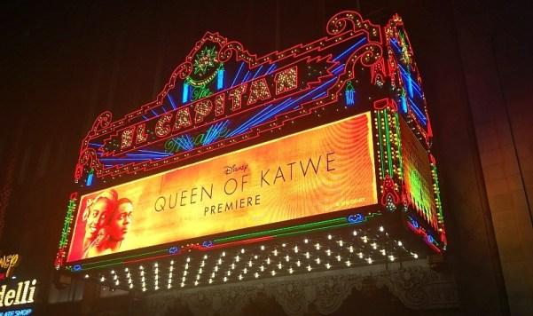 Disney's Queen of Katwe U.S. movie premiere at the El Capitan Theater, Los Angeles, CA