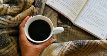Snuggle up on the couch this fall with a book and a warm cup of coffee