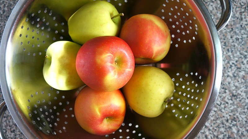 Fresh fall apples, Honeyandlime.co