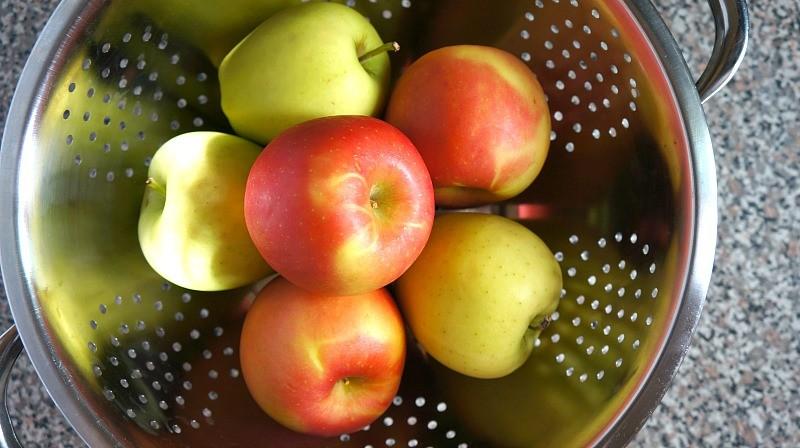Fresh fall apples, Honeyandlime.co