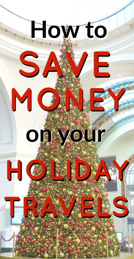 Traveling this holiday season- Here are some tips on how to save money on holiday travel. When you're traveling with your family, these ideas really add up!