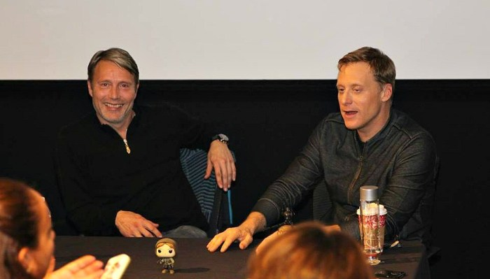 Rogue One Alan Tudyk and Mads Mikkelsen