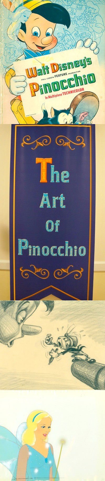 A Look At The Art of Pinocchio Exhibit at The Walt Disney Family Museum