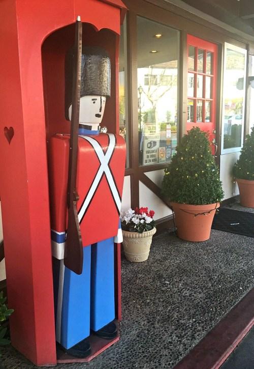 Danish style hotel in Solvang, California