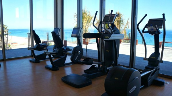 The fitness center at Grand Velas Los Cabos resort