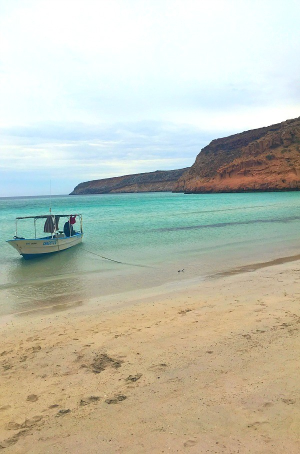 La Paz, Mexico Snorkeling trip, Beautiful beach on a secluded island