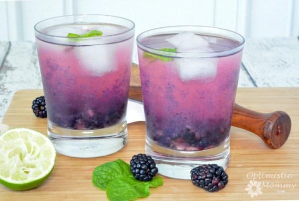 blackberry margarita on the rocks recipe