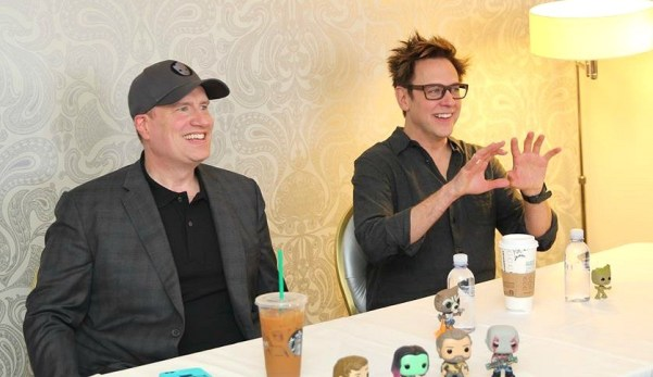 Director James Gunn and Producer Kevin Feige Talk 70's Music In Guardians of the Galaxy 2