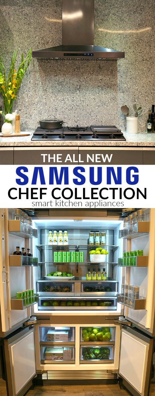 Samsung Chef Collection Smart Kitchen Appliances With Modern Style