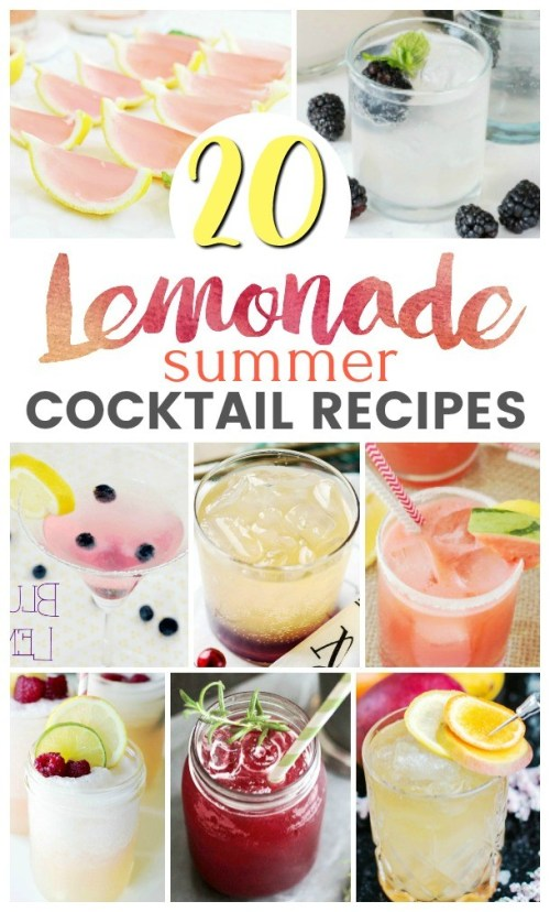 The Top 20 Lemonade Cocktail Recipes You Have To Try This Summer!
