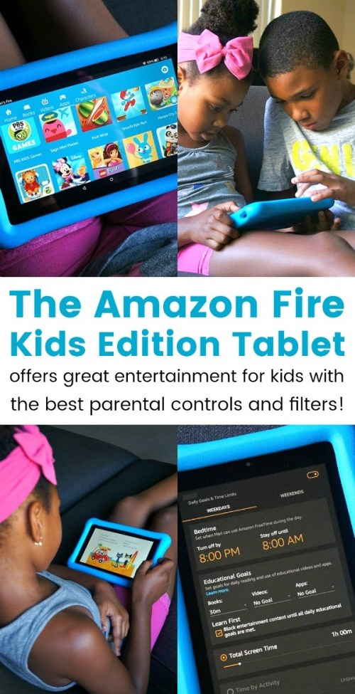 Amazon's Fire Kids Edition Is The Ultimate Kids Tablet With Parental Controls and Filters!